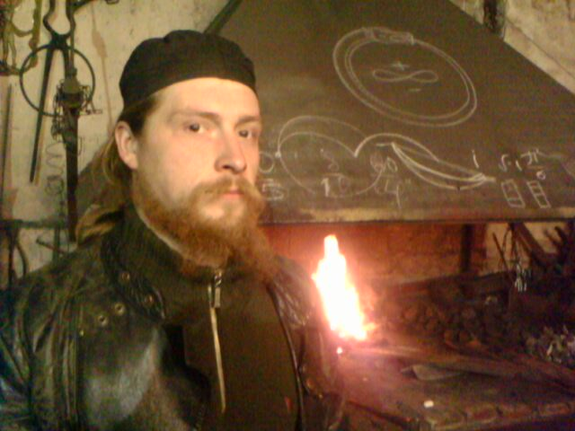 Посещение нашей мастерской художественной ковки мастером из Латвии