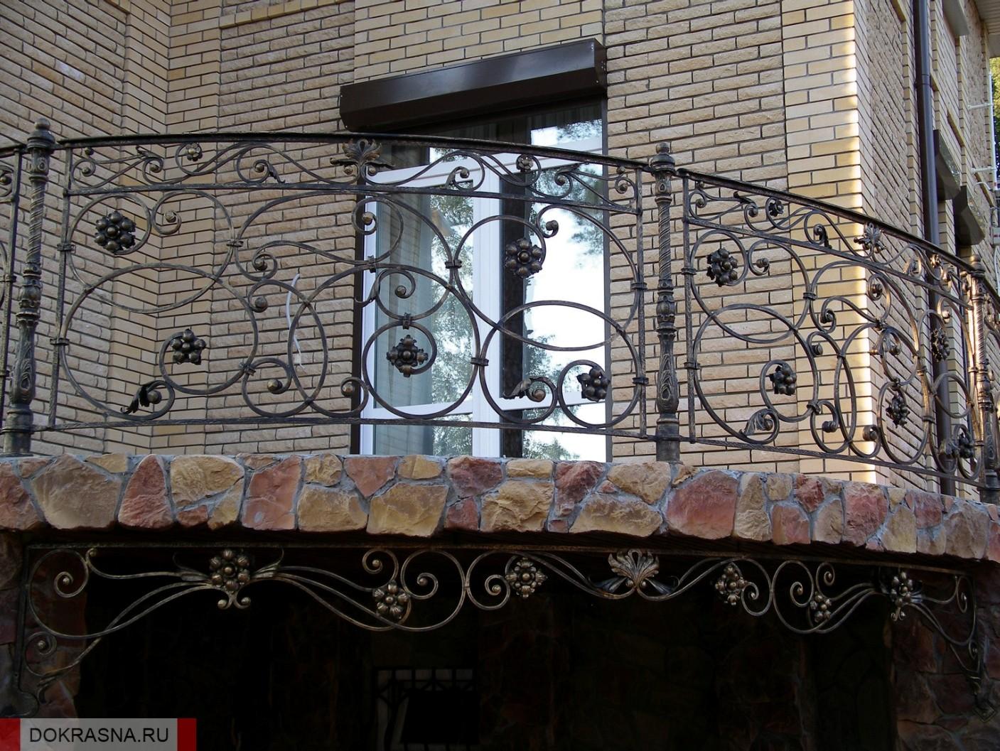 Кованые балконы воронеж, кованые балконы фото, кованые ограж.