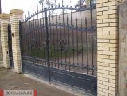 Забор, ворота, калитка, кованый забор, кованые варота, кованая калитка, ковка, кузня, красота, ковать, кованая, металл